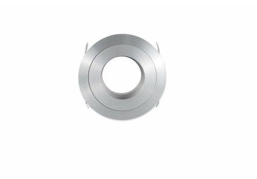 inbouwspot zilver rond