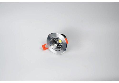 ronde aluminium downlight verstelbaar