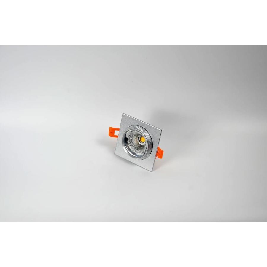 Vierkante aluminium downlight
