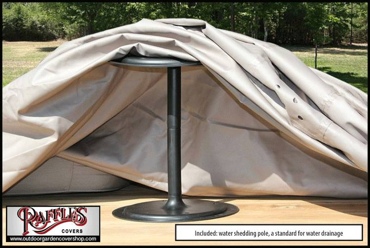 Raffles Covers XL Cover For Garden Furniture Lounge Set 350 X 300 H: 70 Cm