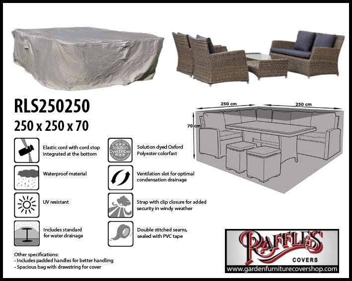 Rattan Lounge Set Cover 250 X 250 Cm Garden Furniture Cover Shop