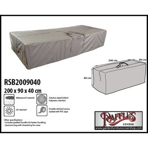 Raffles Covers Outdoor cushions storage bag, 200 x 90 H: 40 cm
