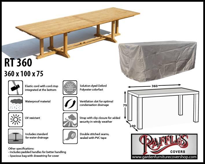 Xxl Table Cover 360 X 100 Cm Garden Furniture Cover Shop