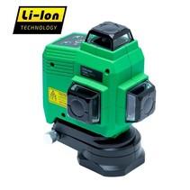 TOPLINER 3x360°  Groene heldere laserstralen