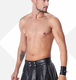XXX COLLECTION Zwart leren heren gladiator rok