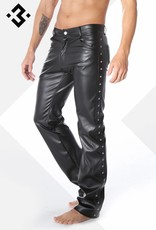 XXX COLLECTION Eco-Leren 5-pocket lange Broek