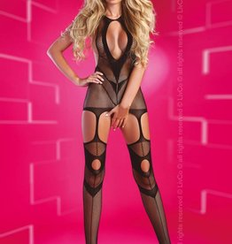 LIVCO CORSETTI Obsession one zwarte bodystocking