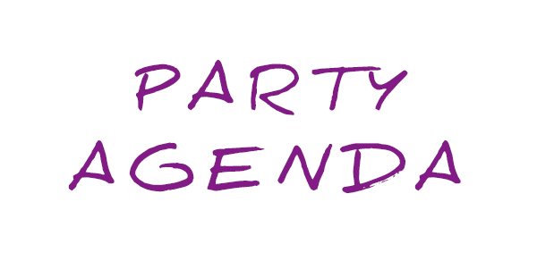 Party Agenda Lamor