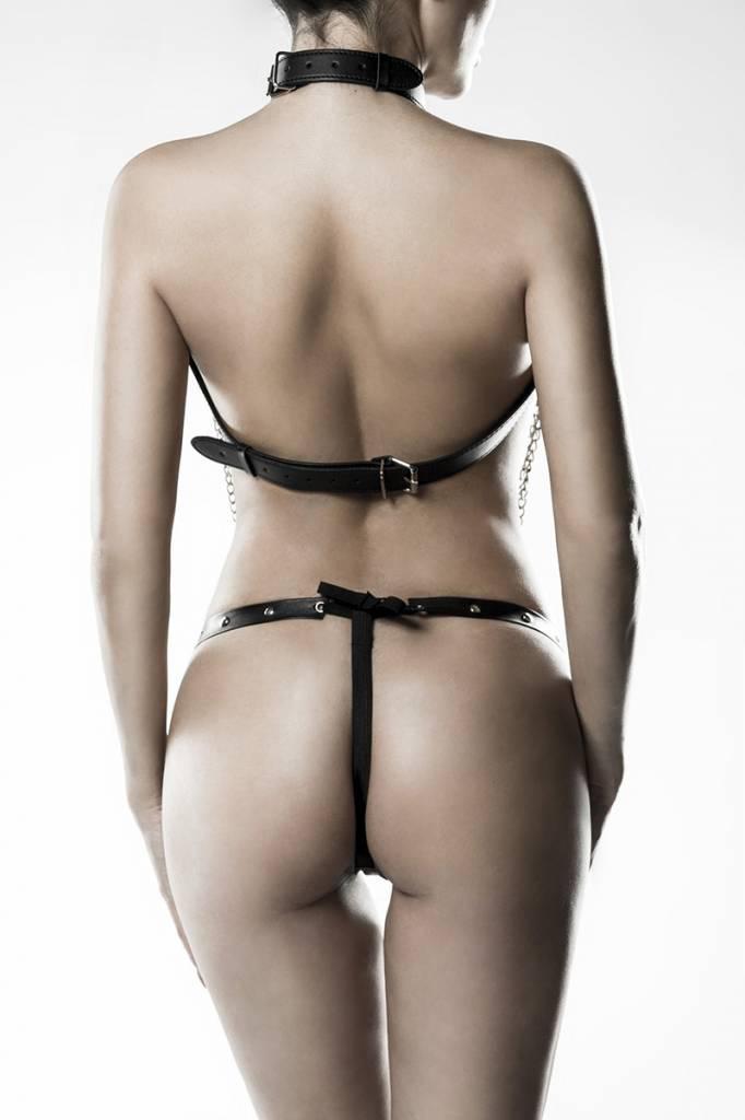 GREY VELVET 3-delige kettingharnas met string van Grey Velvet