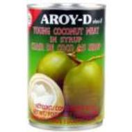 Aroy-D Jonge kokosvruchten op siroop 440g