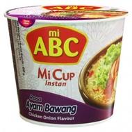 ABC Instant cup noedel kip/uiensmaak 60g