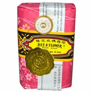 Bee & flower Zeep rozengeur