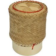 Non food Bamboomandje van kleefrijst 13cm
