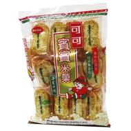 Bin bin Rijstcrackers met zeewiersmaak 150g