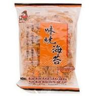 Bin bin Rijstcrackers met zeewiersmaak pikant 135g
