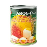 Aroy-D Rambutan en Ananas op siroop 565g