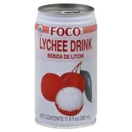 Foco Lychee drank 350ml