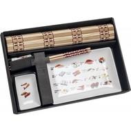 Sushi set sushi kaart 5 delig