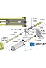KMT Style Plunger Retainer, IOC/CP3