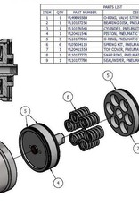 KMT Style Actuator Assembly, IR/KMT Normally Closed Valve