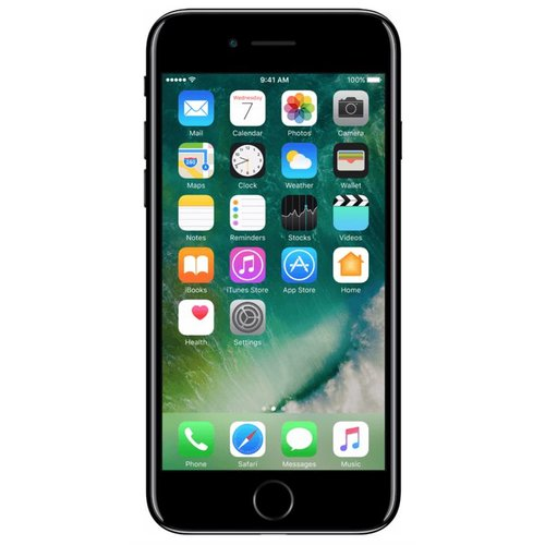 Apple Apple iPhone 7 Jet Black - 64 GB
