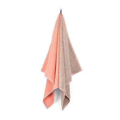 Vij5 TwoTowel - Roze & Beige