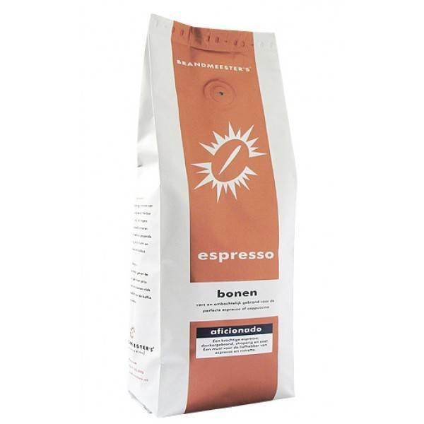 Aficionado - Koffiebonen 500 gram