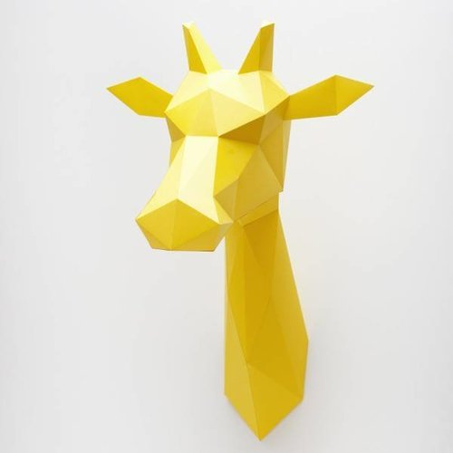 Assembli Giraffe Papier - Goud