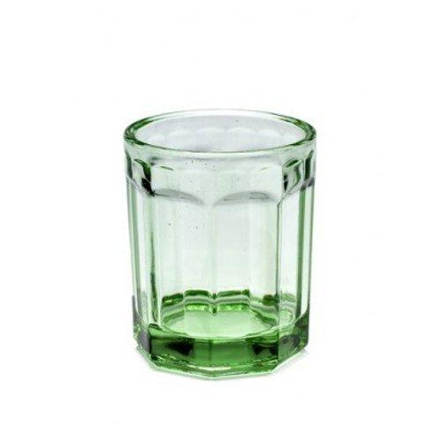 Serax Transparant Groen Glas Klein (2 Stuks)