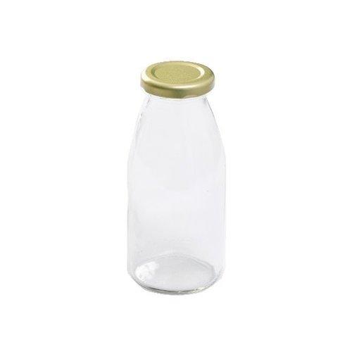 MasonJars Retro Melkfles 250 ml - (6 stuks)