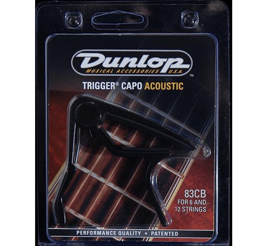 Dunlop Capo 83-CB voor akoestische gitaar (western)