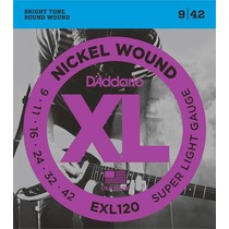 D'Addario EXL-120 snarenset