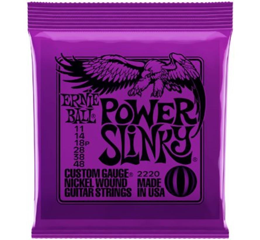 Ernie Ball Power Slinky snarenset