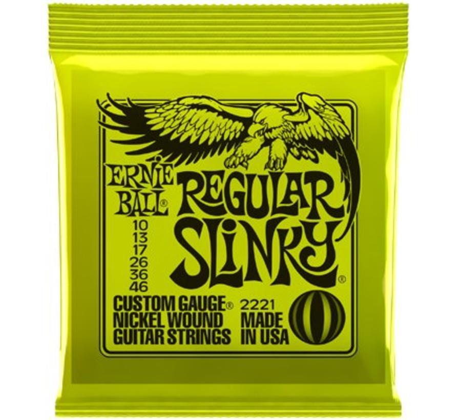 Ernie Ball Regular Slinky snarenset