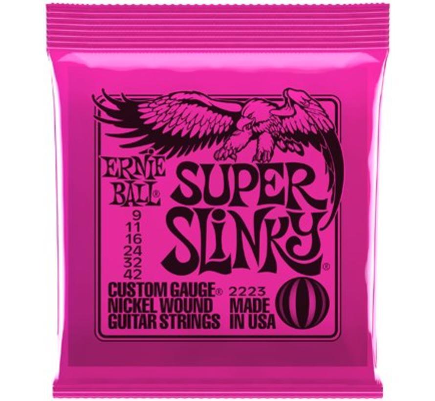 Ernie Ball Super Slinky snarenset