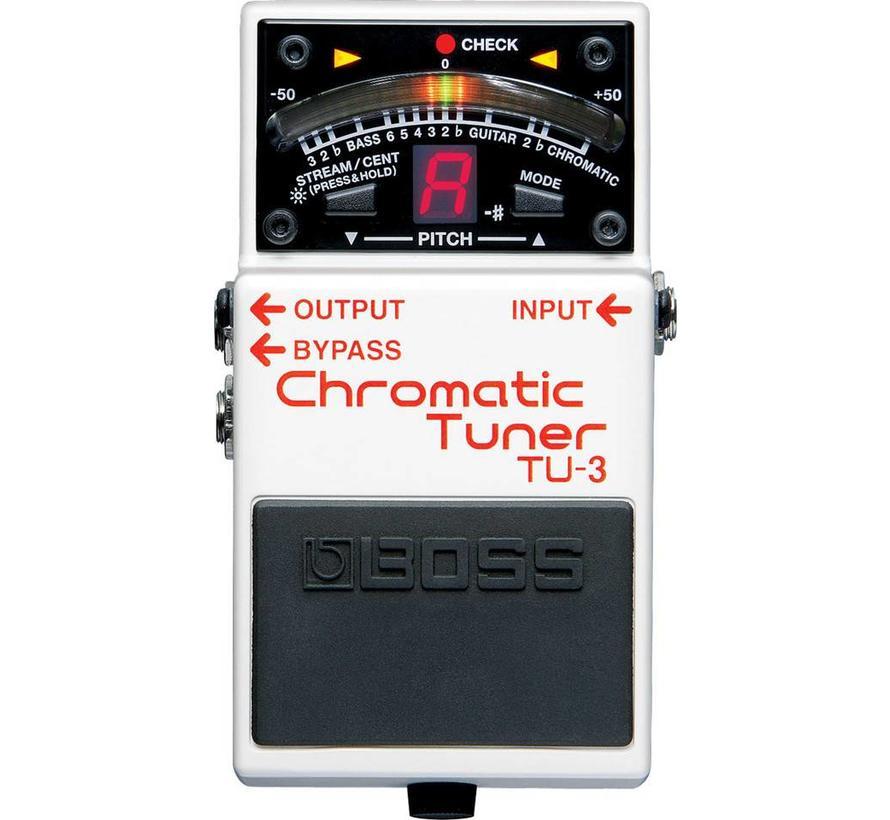 Boss TU-3 chromatische tuner voor gitaar