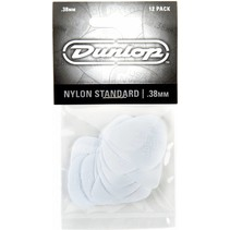 Dunlop 12-pack standaard plectrums .38mm