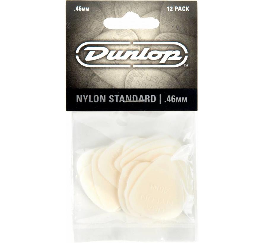 Dunlop 12-pack standaard plectrums .46mm