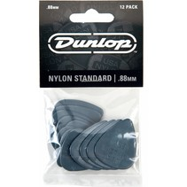 Dunlop 12-pack standaard plectrums .88mm