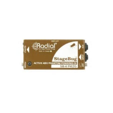 Radial Engineering Radial Engineering Stage Bug SB-4 DI Box