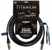 Klotz  Klotz Titanium High End Microfoonkabel 5 meter