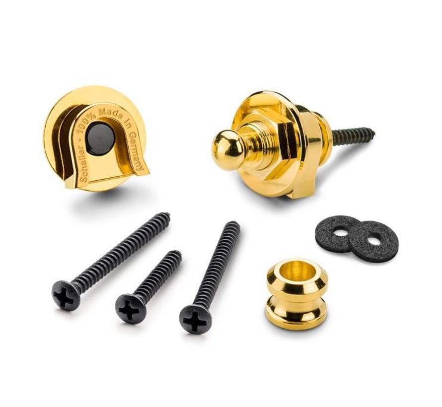 Schaller Security Locks set Gold