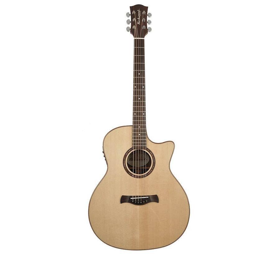 Richwood SWG-150-CE Master Series semi akoestische gitaar