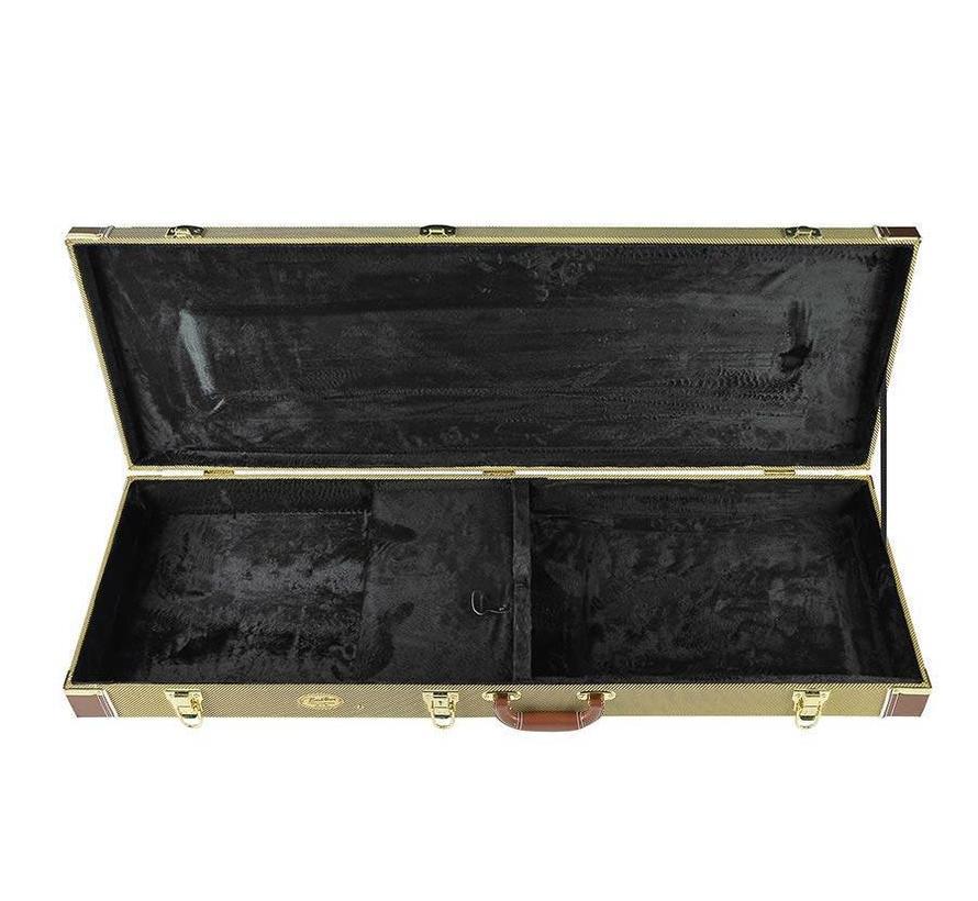 Boston gitaarkoffer voor elektrische  gitaar | Standaard model TWEED | CEG-105