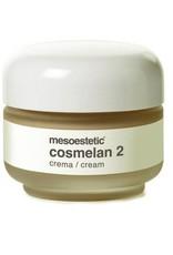 Mesoestetic mesoestetic crème om het depigmentatieproces verder te zetten