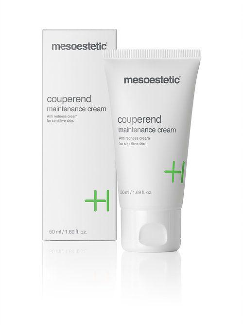 Mesoestetic crème voor de gevoelige huid die lijdt aan roodheid en / of bloed microcapillaries
