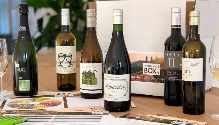 Boxen per wijnland