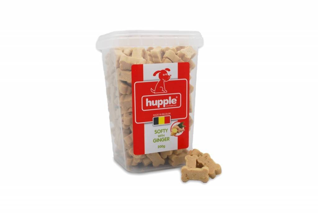 Hupple softy with ginger 200gr