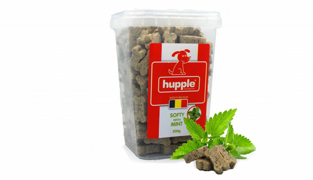 Hupple softy with mint 200gr