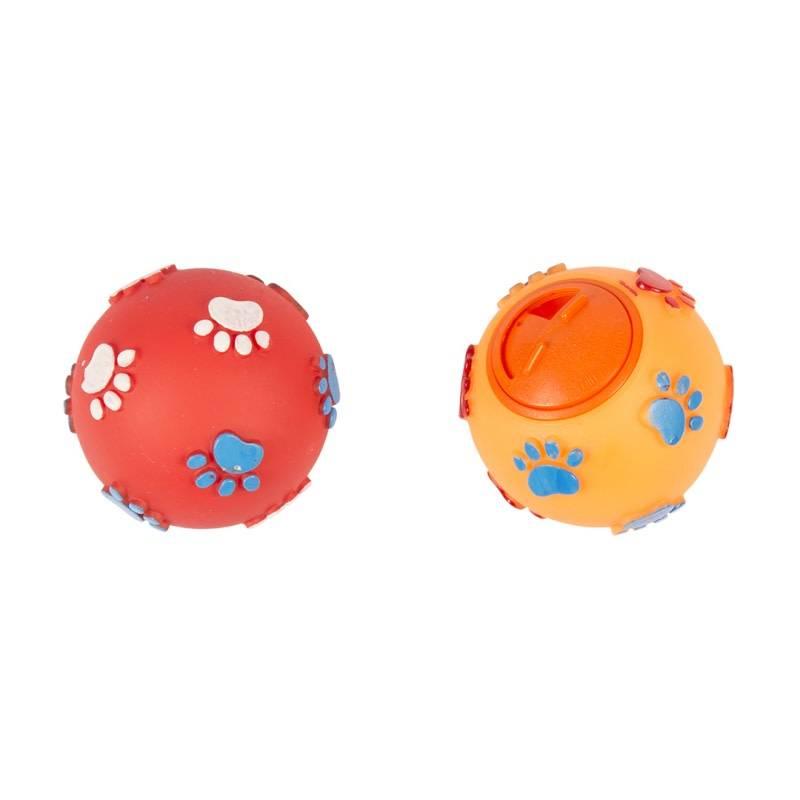 Laroy treat ball met pootjes diverse kleuren